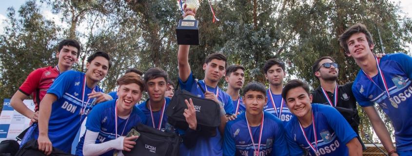Equipo ganador Copa Salesianos 2018